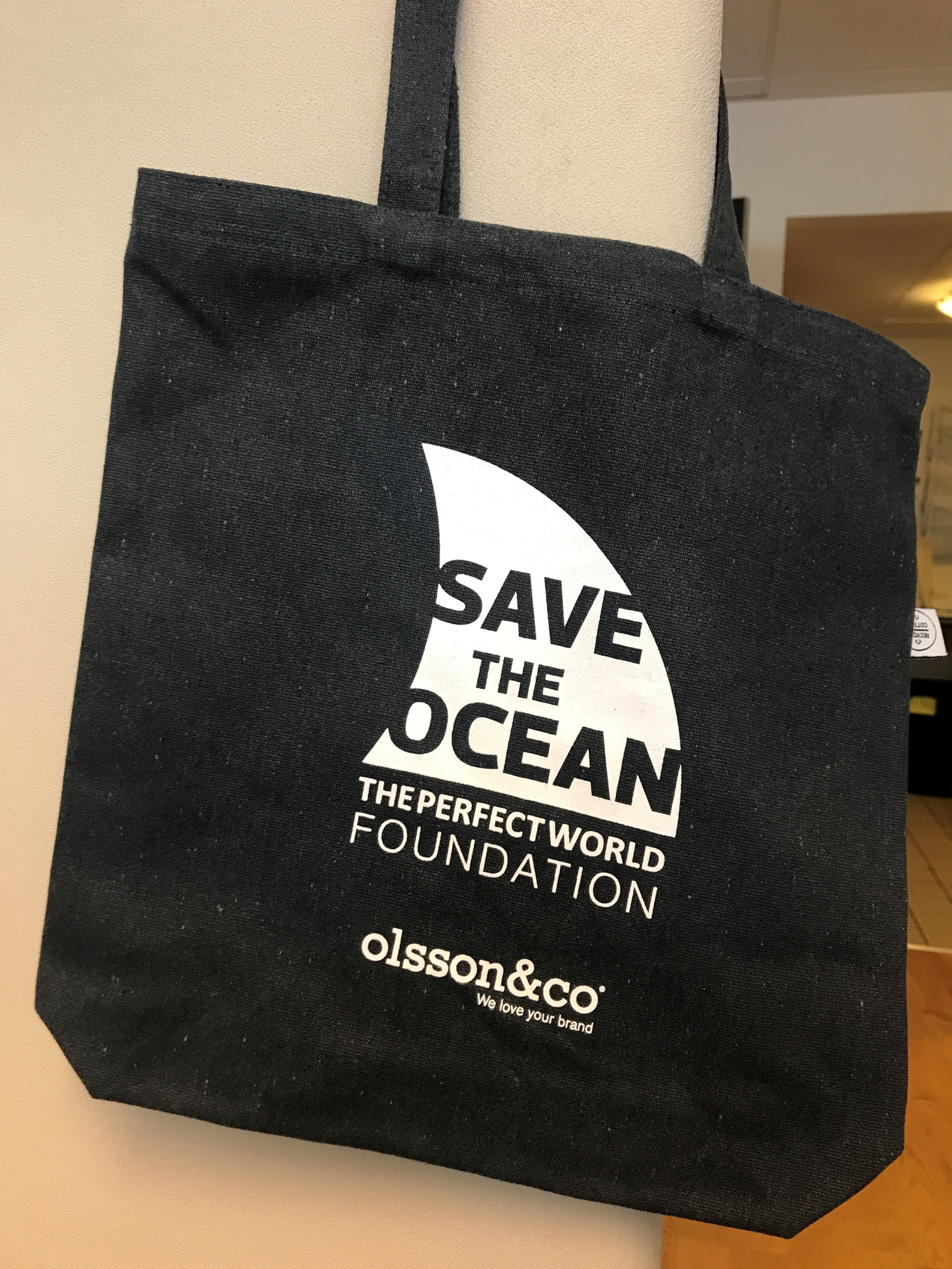 Fabric Bag - Save the Ocean